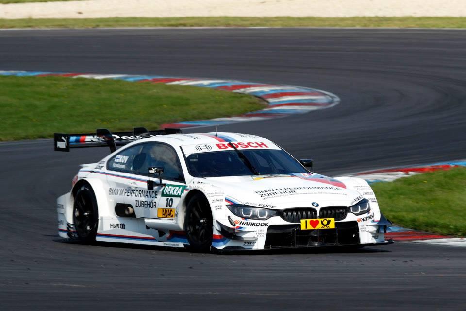 Kovalainen nagyon élvezte a tesztet a BMW M4 DTM-mel: gyors a kanyarokban