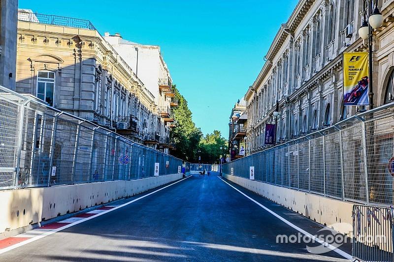 Pérez alaba el circuito de Bakú