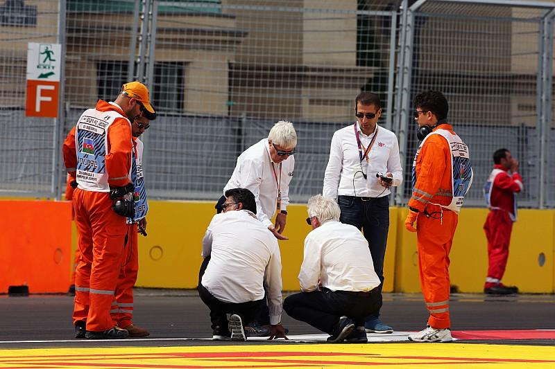 FIA ищет решение проблемы с поребриками, вторая сессия под угрозой срыва