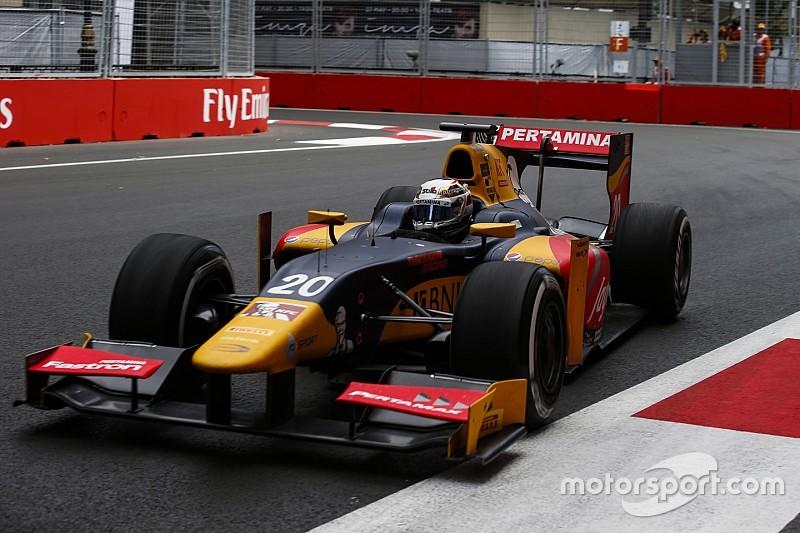 Antonio Giovinazzi centra la sua prima pole in GP2 a Baku