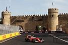 Fotogallery: le F.1 sfrecciano tra i muretti di Baku nelle qualifiche
