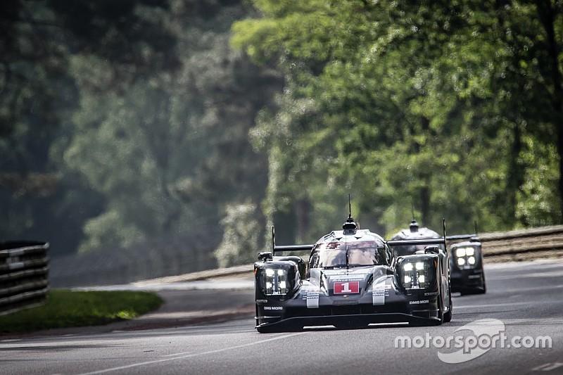 Webber aan de leiding na eerste vier uur in Le Mans