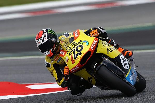 Rins, 23º español que correrá en MotoGP