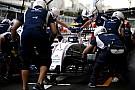 Williams iguala el récord de una parada de pits de F1