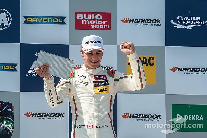 EK F3 Norisring: Stroll schudt Hubert van zich af in ingekorte Race 3