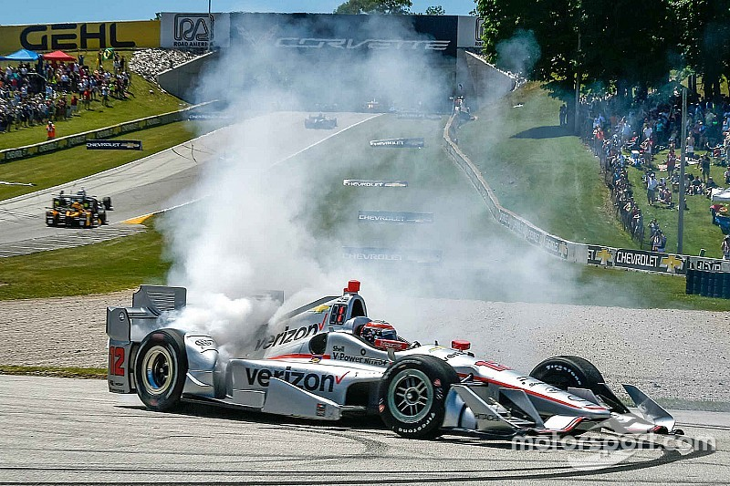 IndyCar Elkhart Lake: Will Power hält Tony Kanaan auf Distanz
