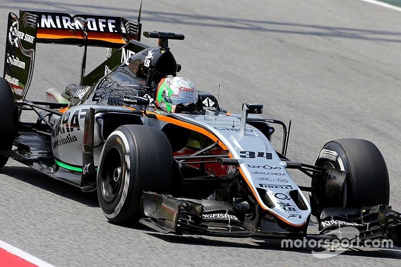 Alfonso Celis Jr torna sulla Force India nelle libere in Austria