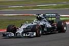Mercedes, único equipo con dos coches en los test de Silverstone