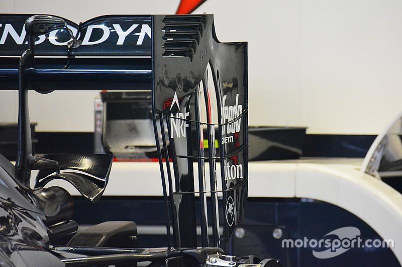 McLaren prueba un diseño radical del ala trasera