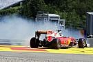 Fotogallery: ecco l'uscita di pista di Sebastian Vettel
