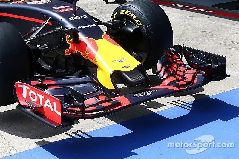 Tech update: Neus Red Bull anderhalve centimeter ingekort