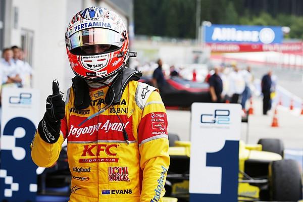 Evans supera tempo maluco em Spielberg e vence pela GP2