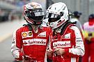 Vettel dice que renovar a Kimi es lo que Ferrari tenía que hacer