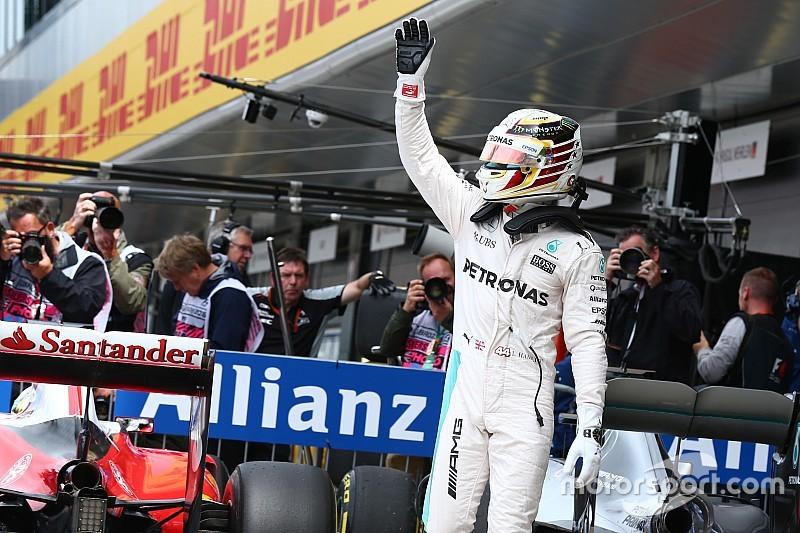 """Polesitter Hamilton: """"Morgen alles geven voor de fans"""""""