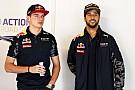 El ambiente en Red Bull cambió desde la llegada de Verstappen, dice Ricciardo