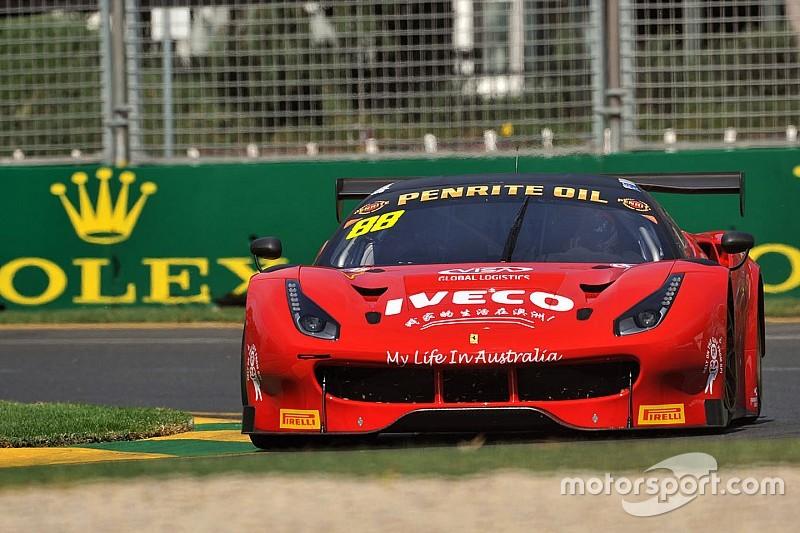 Ferrari presenta a pilotos para 12 Horas de Bathurst