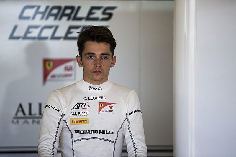 Leclerc mist hulp Bianchi tijdens F1-test voor Ferrari