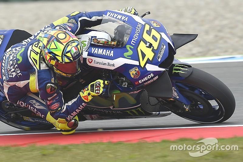 Alemania: el peor escenario para Rossi y las Yamaha