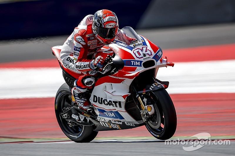 MotoGP-Test in Spielberg: Ducati-Dominanz am ersten Tag