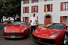 Kobe Bryant ha fatto visita alla Ferrari a Maranello