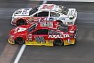 La última vuelta de Tony Stewart y Jeff Gordon en Indianápolis