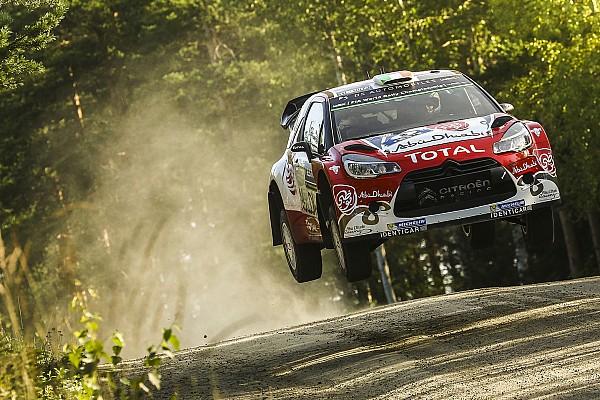 Bildergalerie: Fliegende Autos bei der Rallye Finnland