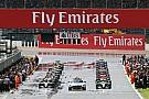 В Формуле 1 согласились давать старты с места на мокрой трассе