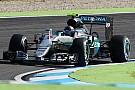Rosberg ook bovenaan in tweede training Duitsland, Verstappen vierde