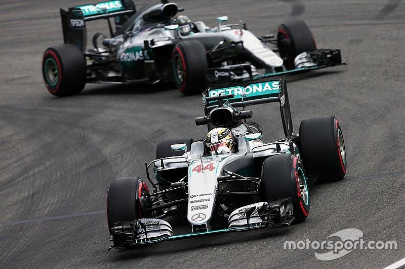 Mercedes quiere evitar una reprimenda a Hamilton