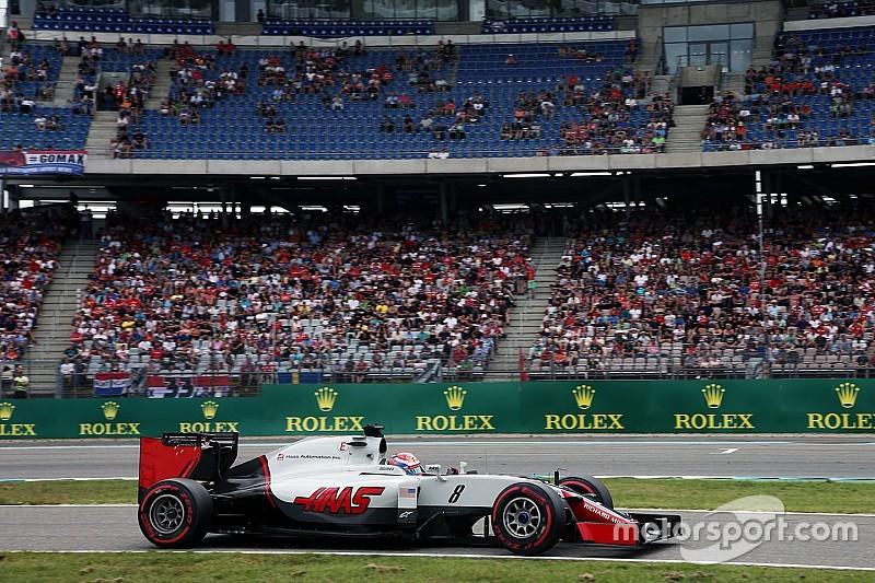 Gridstraf voor Grosjean na versnellingsbakwissel
