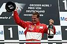 10 años de la última victoria de Schumacher en Alemania