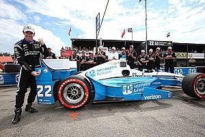 IndyCar Reporte de calificación Con  récord de la pista, Pagenaud gana la pole