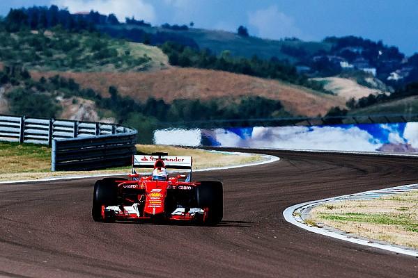 Формула 1 Галерея: Феттель тестирует шины для сезона-2017