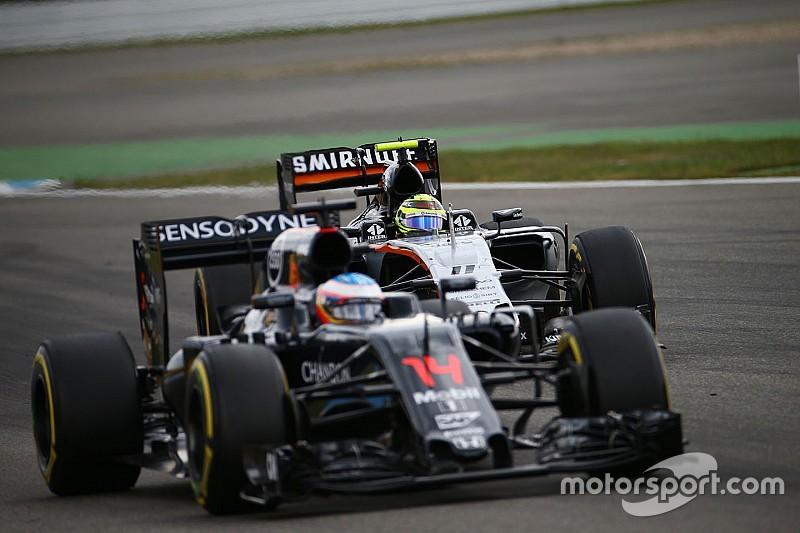 """Force India: """"McLaren kan factor worden in strijd om vierde plek met Williams"""""""