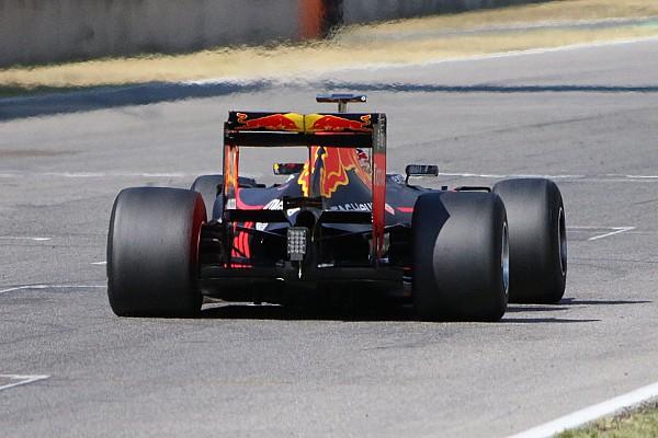Red Bull 2017 lastikleriyle ilk testini tamamladı