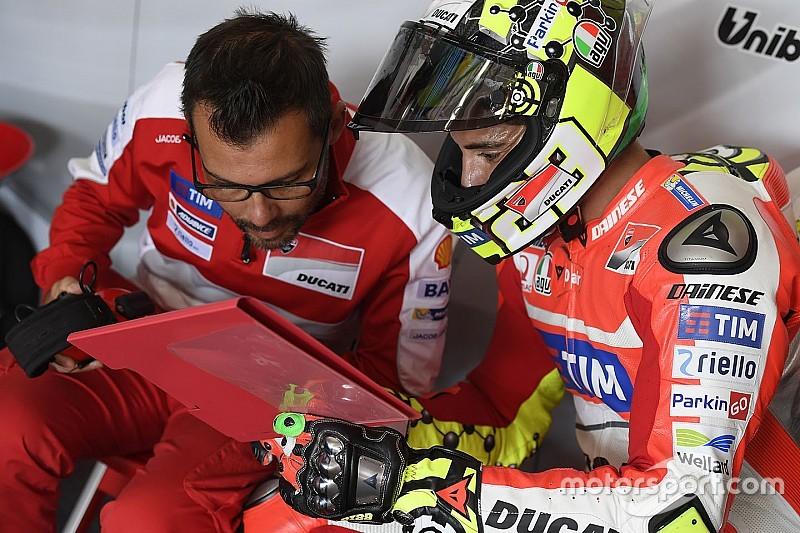 Andrea Iannone si porta alla Suzuki il suo capo meccanico
