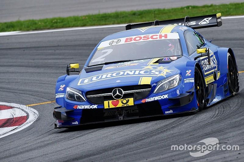 DTM Moskou: Mercedes domineert eerste kwalificatie