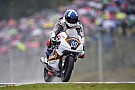 John McPhee schwimmt zum Brno-Moto3-Sieg