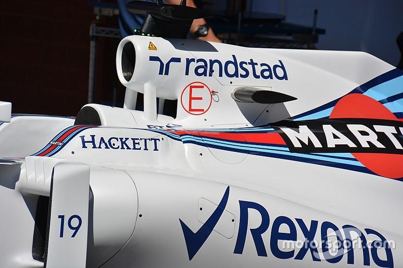 Tech update: Williams verwijdert vleugeltje op de airbox
