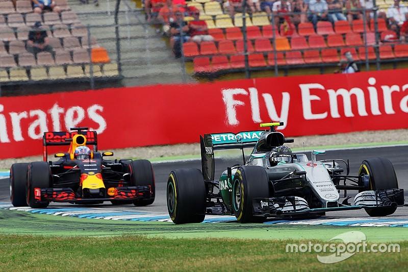 """Rosberg: """"Weet wat ik moet doen om Verstappen af te houden"""""""