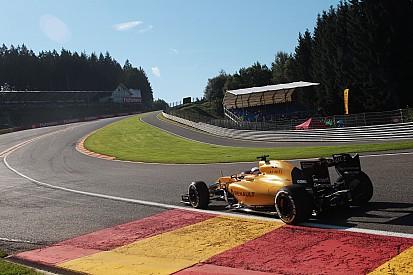 Magnussen, herido en la pierna tras su fuerte accidente en Spa