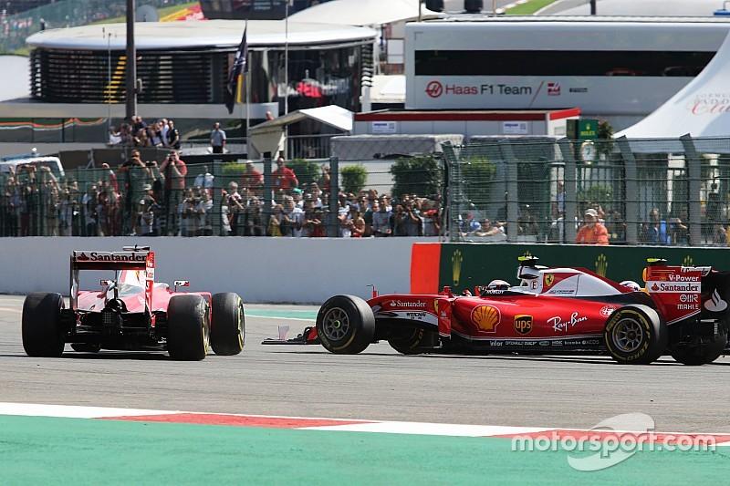 Vettel geeft Verstappen de schuld van clash in eerste bocht