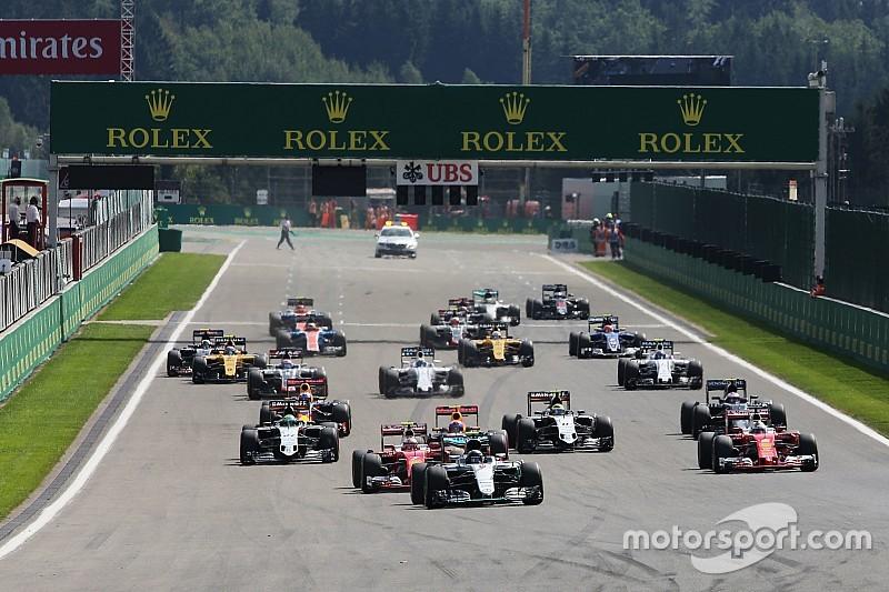 Resultados del GP de Bélgica