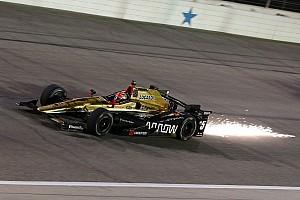 IndyCar Réactions Une défaite cruelle pour James Hinchcliffe au Texas