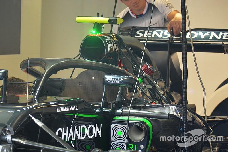 Button probará el Halo en los libres de Monza