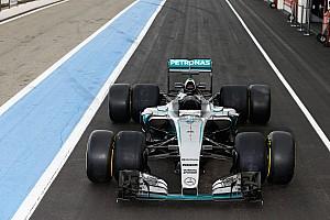 F1 Noticias de última hora Mercedes probó los neumáticos 2017 de Pirelli