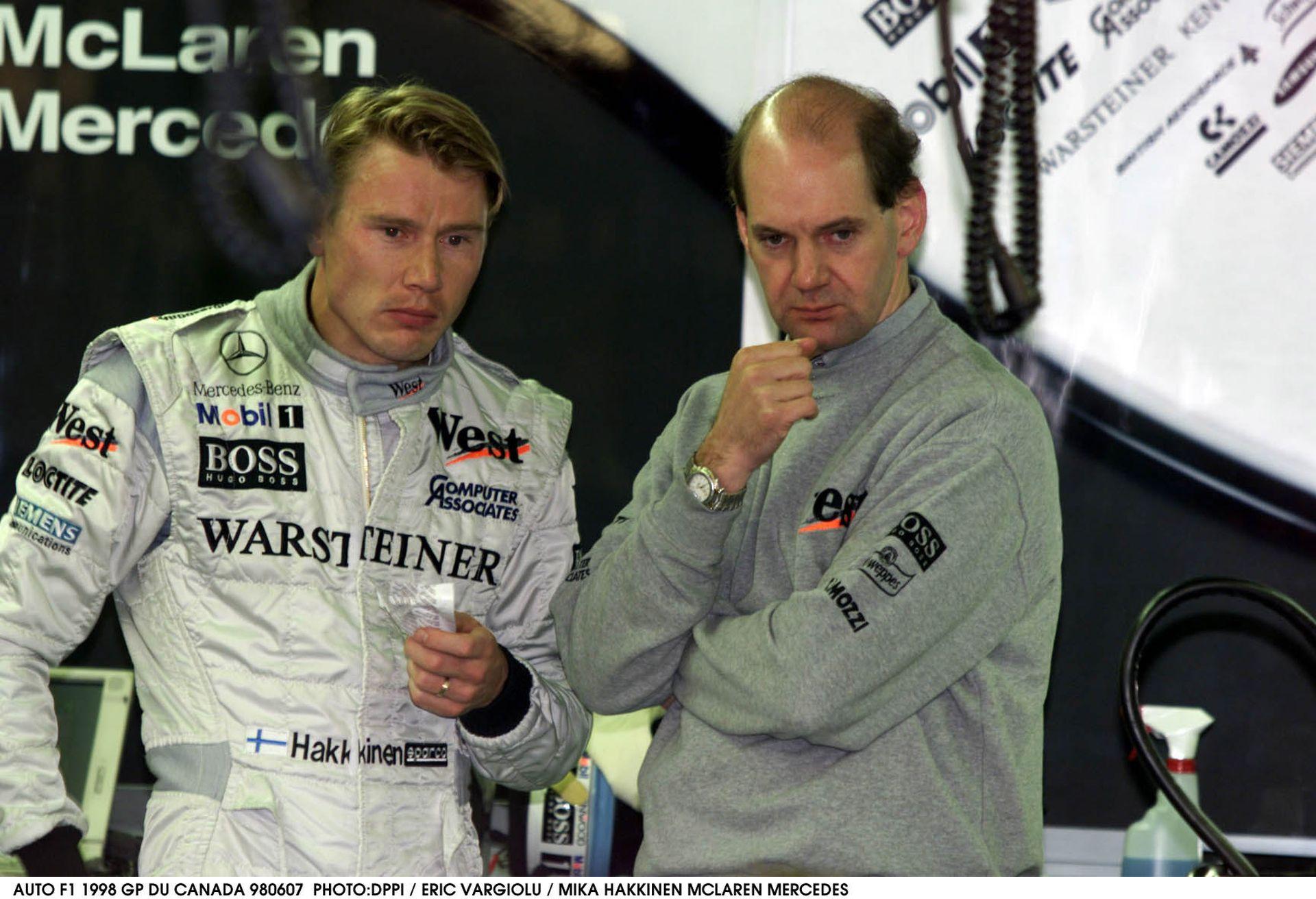 Ma 57 éves Adrian Newey, az F1 történetének egyik legnagyobb tervezője