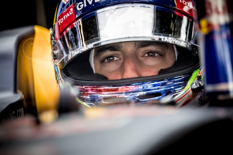 Így tombol a helikopteren Ricciardo: Verstappen majd elrontja a kedvét