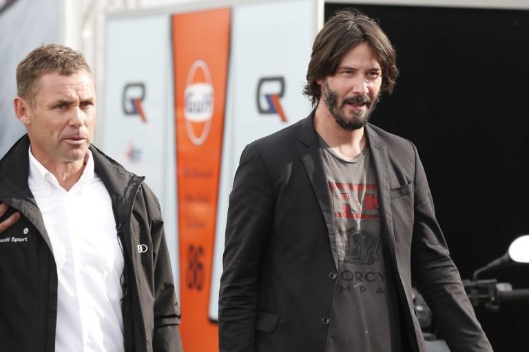 Keanu Reeves F1-es filmet tervez?!