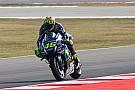 MotoGP Misano: Valentino Rossi im 1. Training vorne, schwerer Sturz von Andrea Iannone